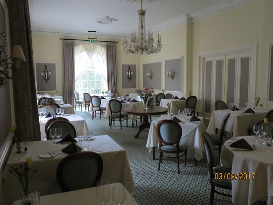 Lifton, UK: Dining room