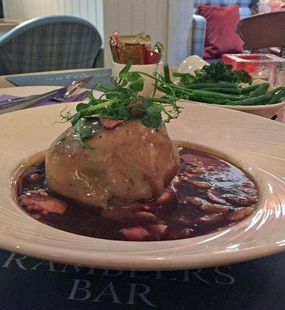 Glenridding, UK: Steak Suet Pudding