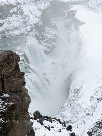 Mosfellsbaer, Islandia: Gullfoss Falls