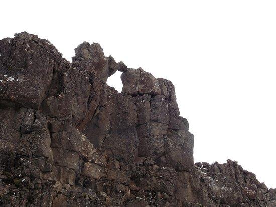 Mosfellsbaer, Islandia: The Law Rock