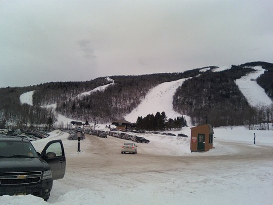 Killington, VT: View from the bottom of the Snowden area