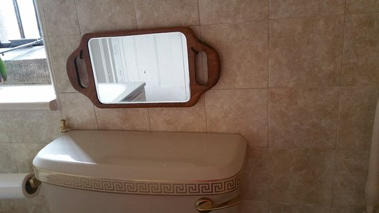 Dursley, UK: Why an old mirror here?