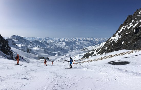 Savoie, France: Ski slope and landscape