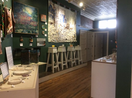 Canton, NY: Local ceramics and art