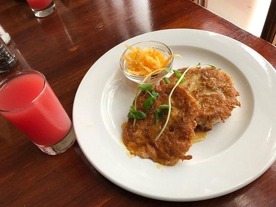 Harbour House Hotel: Breakfast freshly made to order