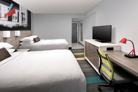 Best Western Oceanfront: Double Queen Beds Guest Room