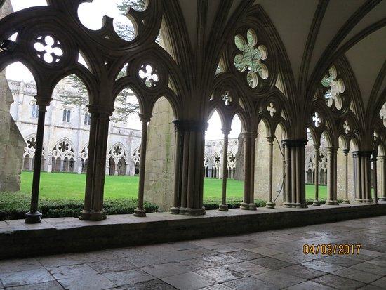 Salisbury, UK: Internal courtyard