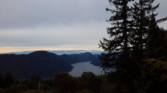 Malahat, Canadá: Stunning view from room.