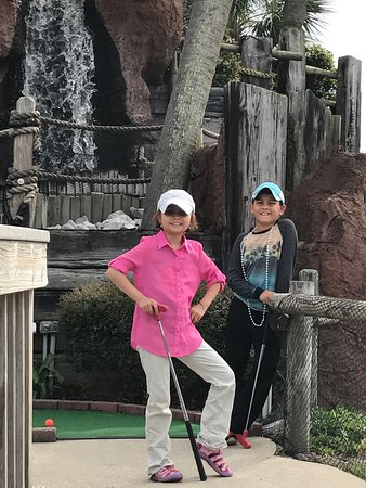 The Track: Kids loved the rides & mini golf