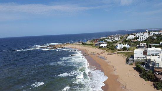 Мальдонадо, Уругвай: VISTA DA PRAIA