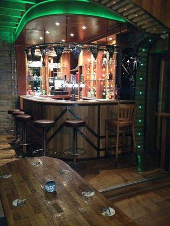 Sowerby Bridge, UK: Private bar area. 
