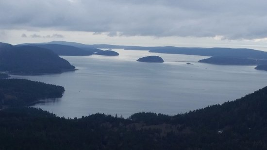 Mt Constitution at Moran State Park, Orcas Island