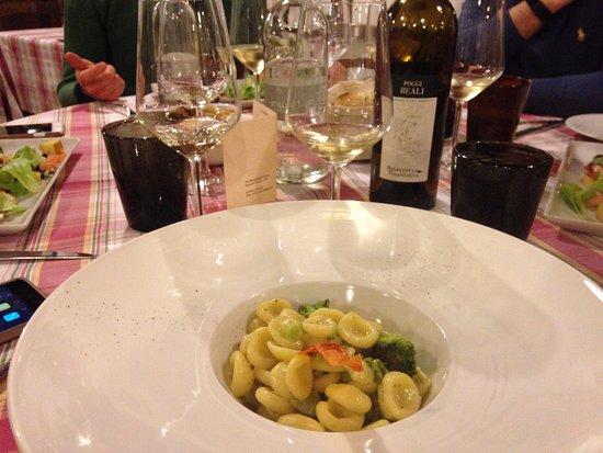 Ponzano Veneto, อิตาลี: Fuori menù vegetariano Orecchiette fatte in casa con broccoli e casatella
