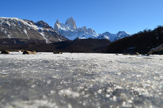Road to El Chalten: laguna ghiacciata