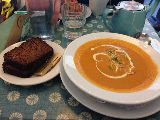 Strandhill, Irland: lovely soup of the day