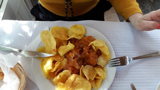 Montemor-o-Novo, Portugal: Bacalhau delicioso
