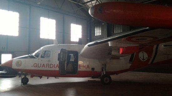Volandia Parco e Museo del Volo Malpensa: Aereo della Guardia Costriera.