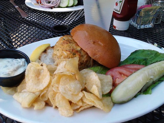Lititz, PA: Classic Crab Cake Sandwich Is Always A Delight!