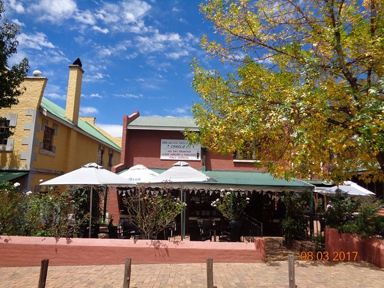 Dullstroom, South Africa: Charlie C's