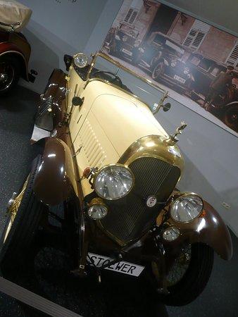 Fahrzeugmuseum Suhl: Stoewer-Automobil aus Stettin
