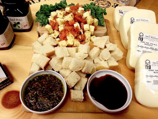 Kenosha, WI: Sample one of our many featured cheeses and get serving ideas with pairings!