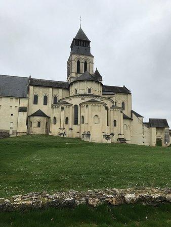 Fontevraud-l'Abbaye, Fransa: La vue de l'Hotel