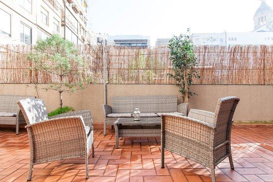 Aspasios Rambla Catalunya Suites: Terrace