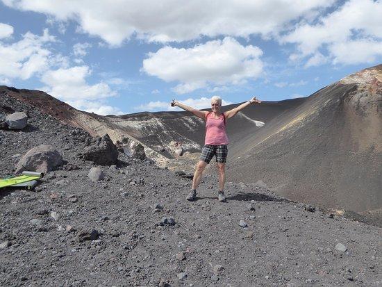 Leon, Nicaragua : Climbing Cerro Negro