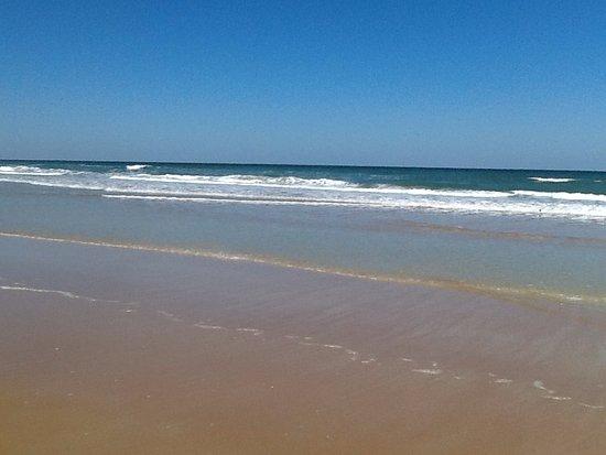 Ormond Beach, FL: A cold day at the beach