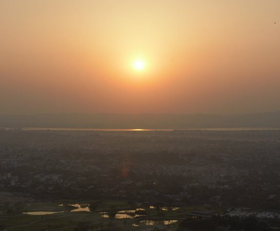Photo of Scenic Lookout Mandalay Hill at Mandalay, Myanmar