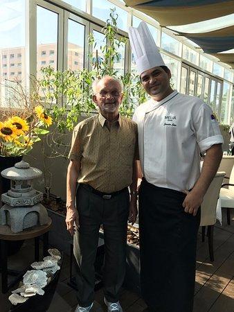 Signature by Sanjeev Kapoor: Me and Chef Chandra Chur Chamoli.