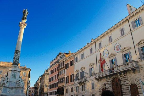 New Rome Free Tour : Spanish embassy
