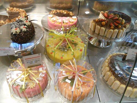 Cafe Boulevard: Boulevard`s tårtor.