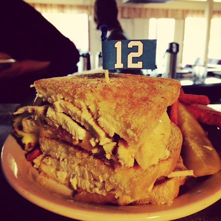 Burien, WA: Turkey Melt - Go Hawks!