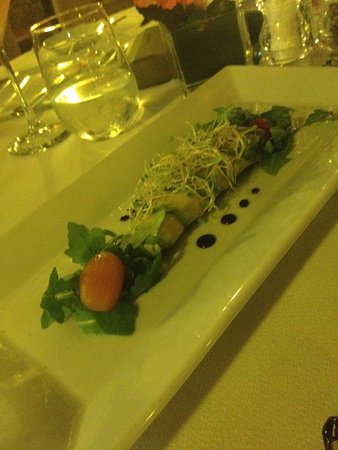 Spiga Restaurant : Crab/avocado appetizer