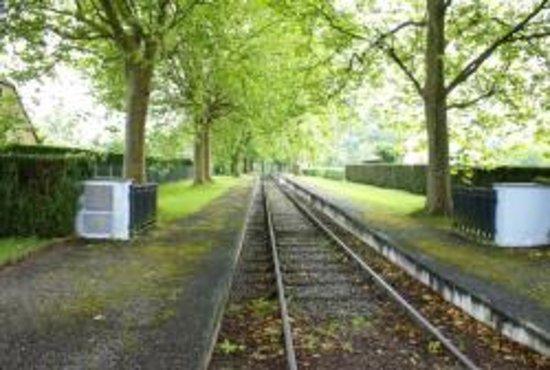 Gurs, Francia: chemin de fer d'époque