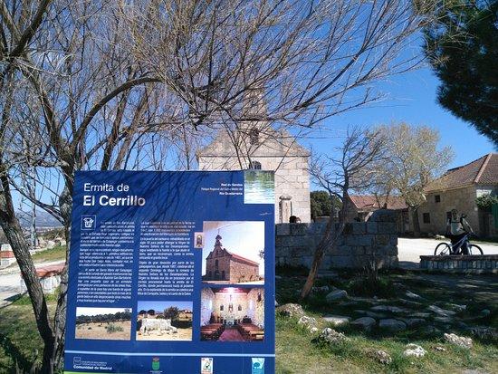 Galapagar, Ισπανία: trente al restaurante la ermita