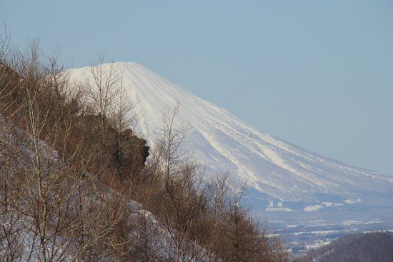 Sobetsu-cho, Japón: derrière le Mt Usu, le Mont Yotei