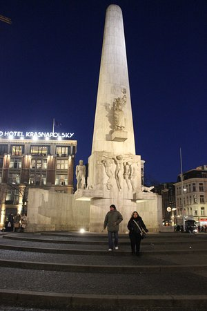 Photo of Monument / Landmark National Monument at Dam, Amsterdam, Netherlands