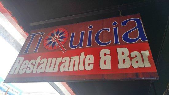 Province of Puntarenas, Costa Rica: sign