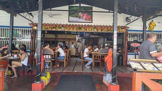 Province of Puntarenas, Costa Rica: restaurant