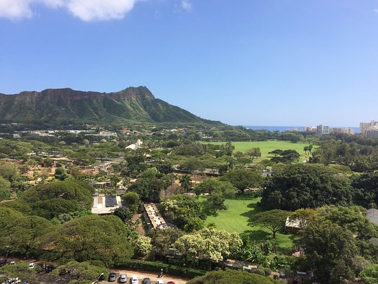 Queen Kapiolani Hotel: Lovely view from the room