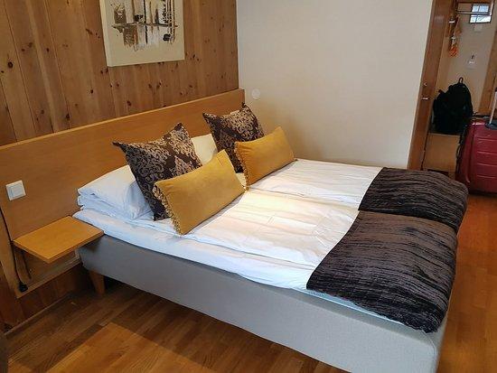 Flamsbrygga Hotell: quarto