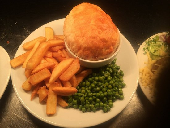 Saltash, UK: One of our home made pies