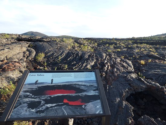 Arco, ID: Craters of the Moon's Landscape along Cave Trail