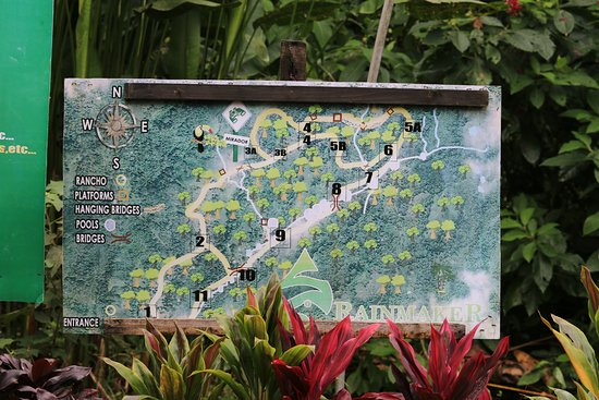แพร์ริตา, คอสตาริกา: map