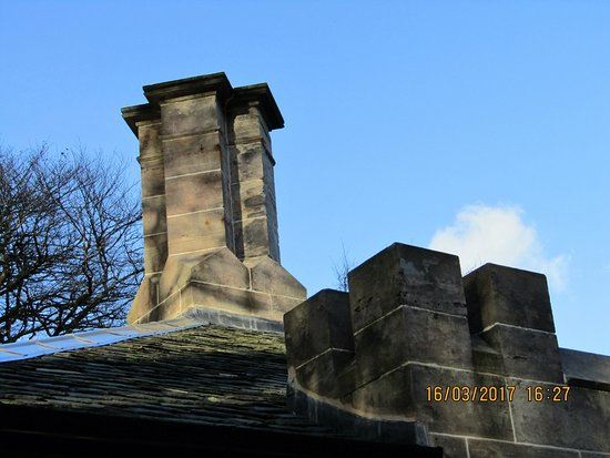 Carradale, UK: South Lodge Chimney and turret