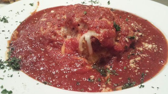 Newton Falls, Огайо: Lasagna... drowning in sauce