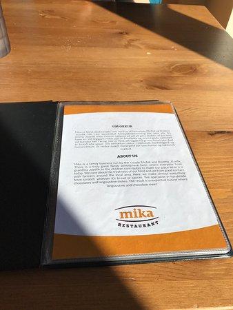 Reykholt, Island: Restaurant Mika