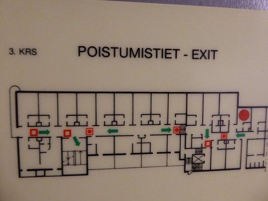 Kajaani, فنلندا: Floor plan